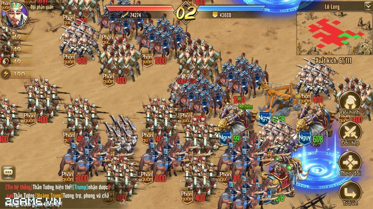 Tam Quốc Bá Nghiệp - Game chiến thuật hạng nặng trên mobile về Việt Nam 0