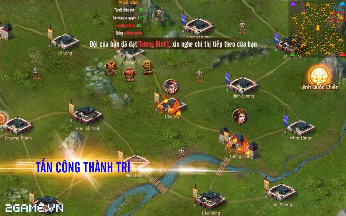 Tam Quốc Bá Nghiệp - Game chiến thuật hạng nặng trên mobile về Việt Nam 4