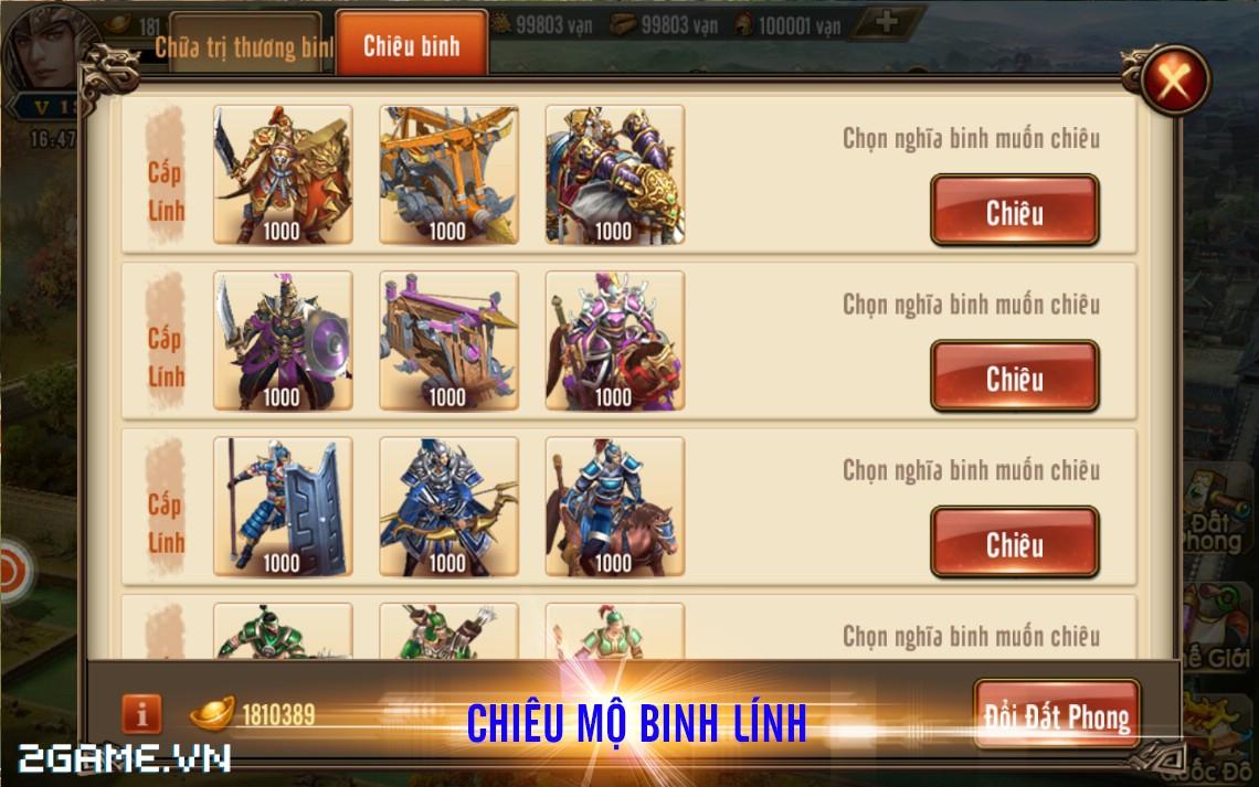 Tam Quốc Bá Nghiệp - Game chiến thuật hạng nặng trên mobile về Việt Nam 5