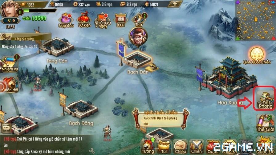 Tam Quốc Bá Nghiệp – Tìm hiểu chiêu binh