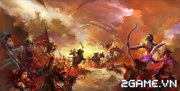 Vạn Tướng Trận – Bang Hội Đại Chiến