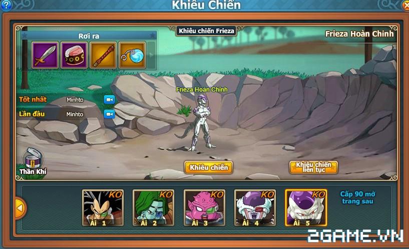 7 Viên Ngọc Rồng Web – Khiêu chiến cực hạn