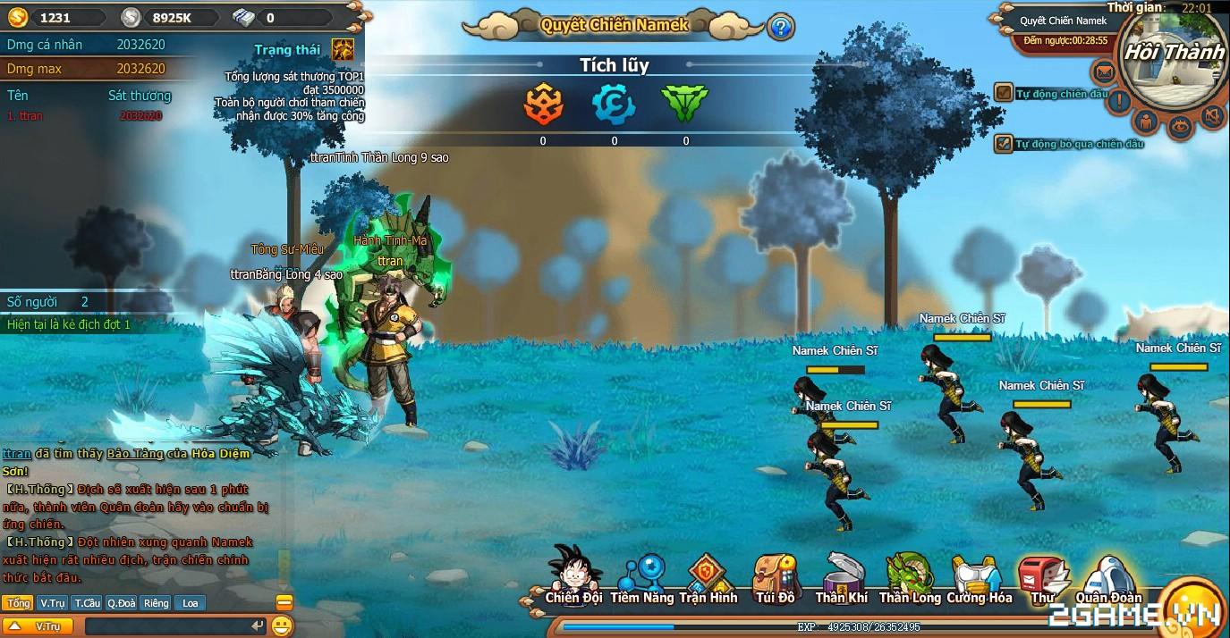7 Viên Ngọc Rồng Web - Quyết chiến Namek 1