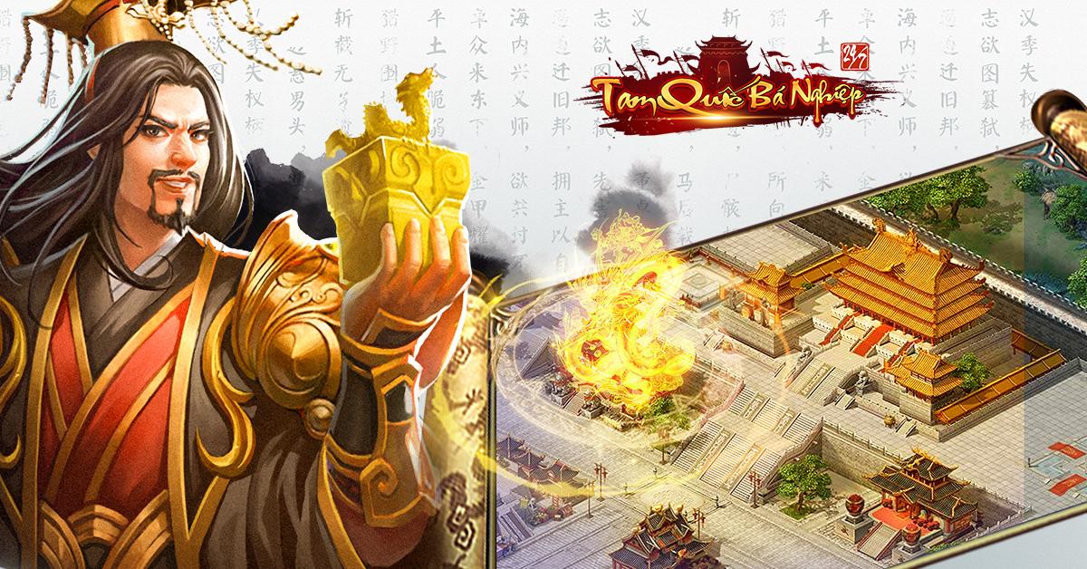 Cảnh khói lửa loạn lạc khắp nơi trong game Tam Quốc Bá Nghiệp chỉ vì giải thưởng...1 tỷ đồng tiền mặt 10
