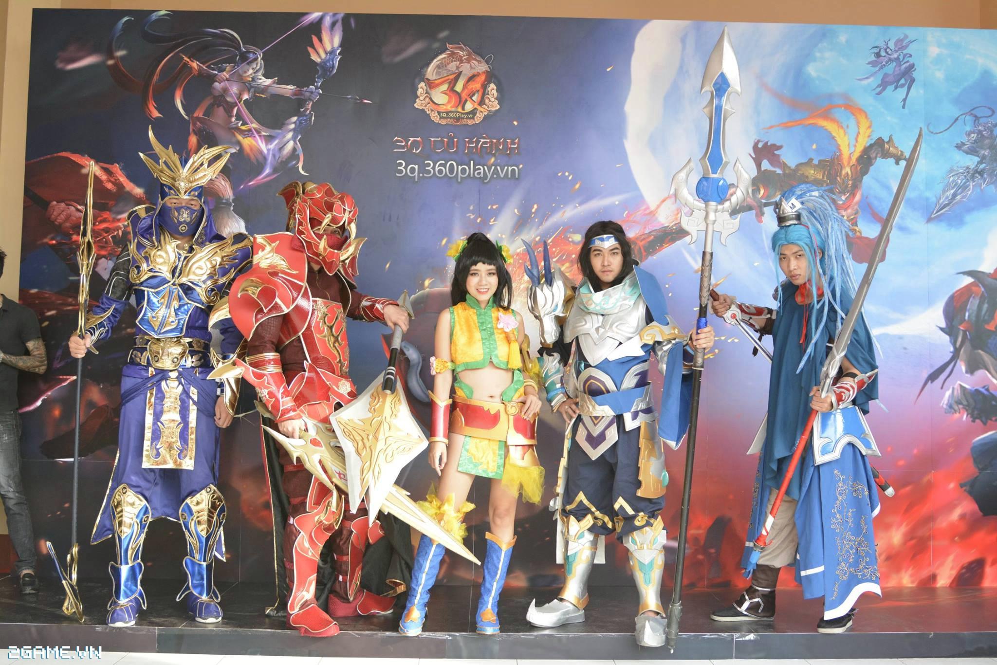 Điểm mặt các cosplay game xuất hiện tại Đại Hội 360mobi 2016 10