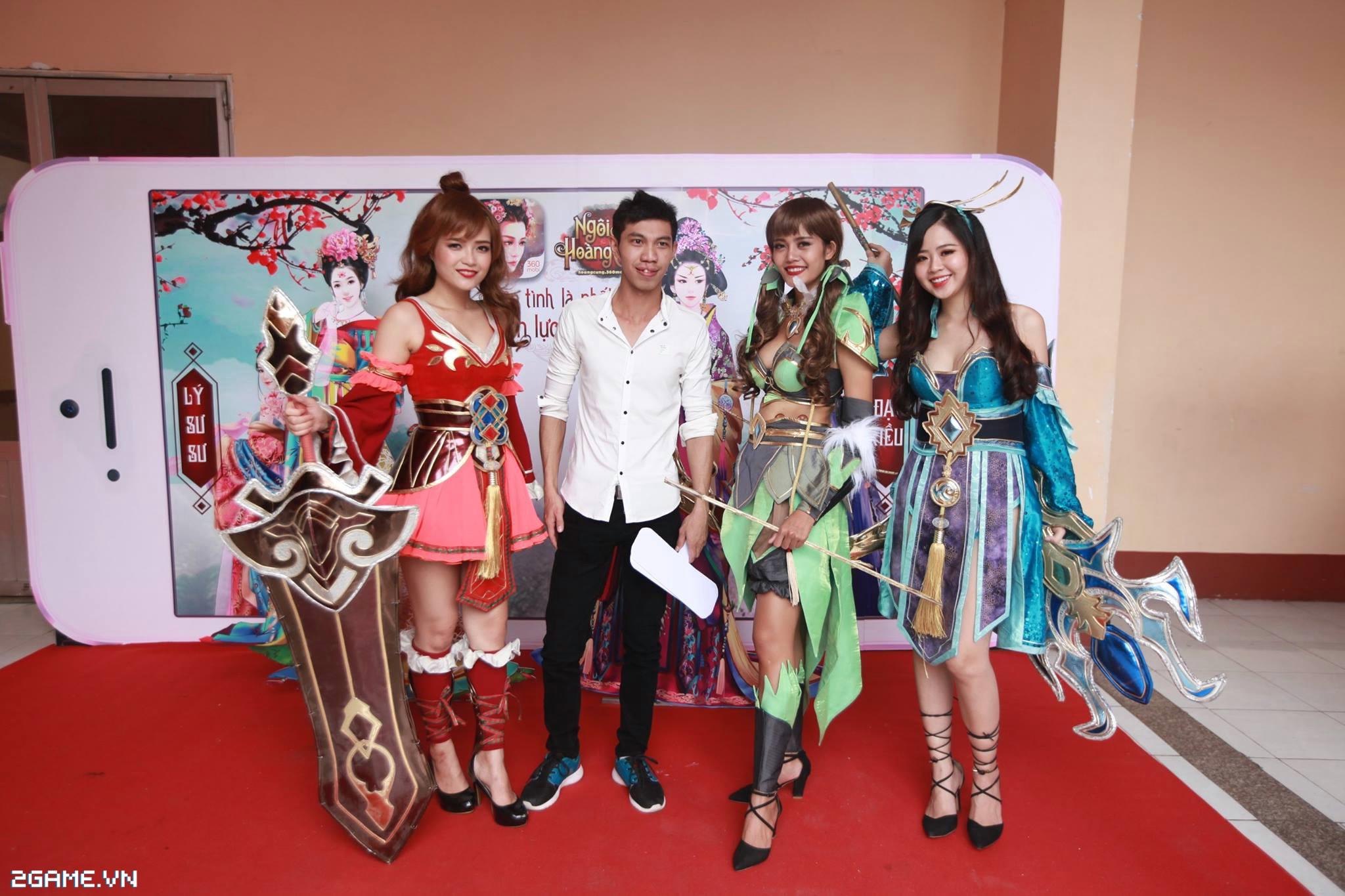 Điểm mặt các cosplay game xuất hiện tại Đại Hội 360mobi 2016 6