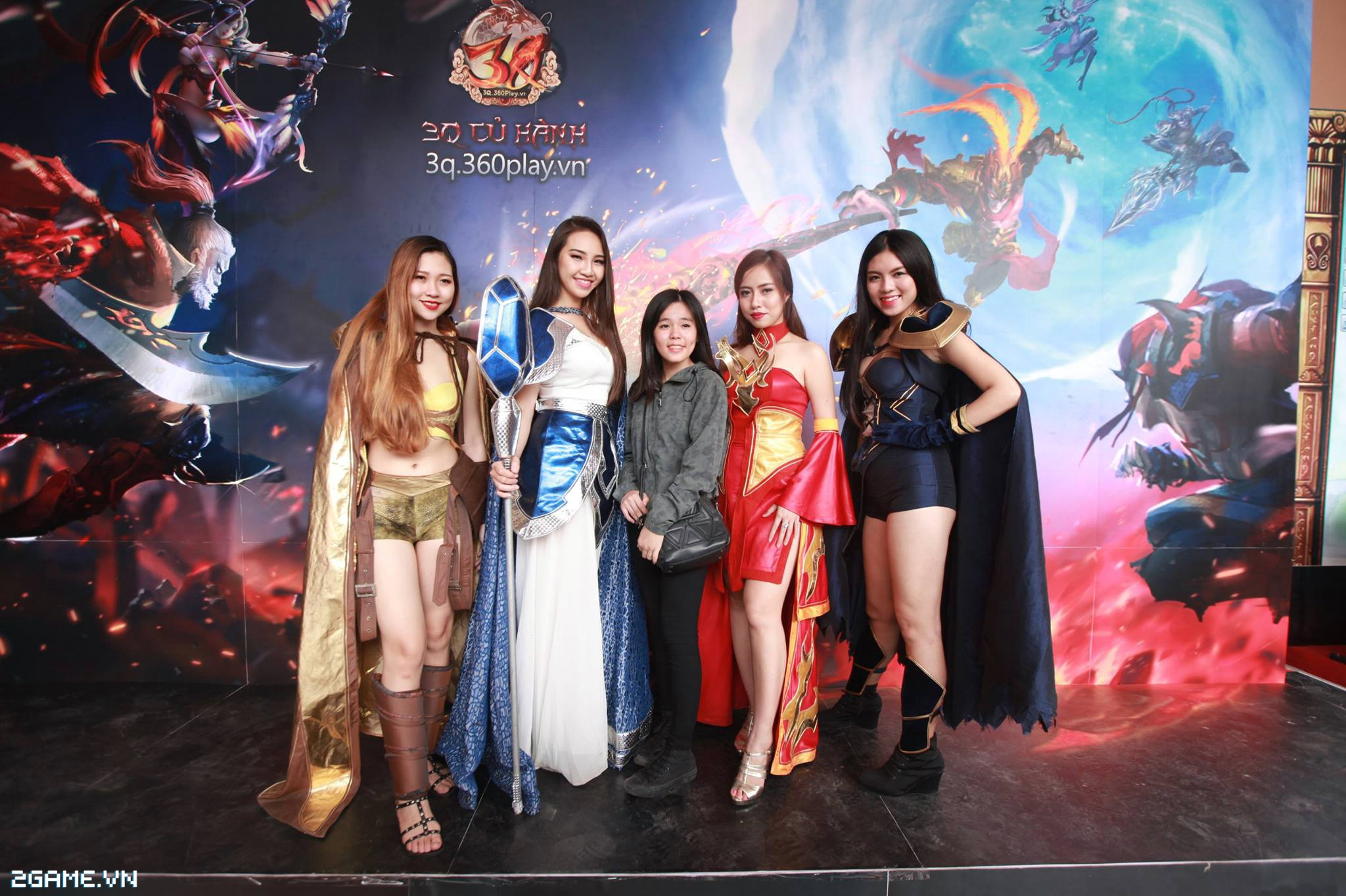 Điểm mặt các cosplay game xuất hiện tại Đại Hội 360mobi 2016 4