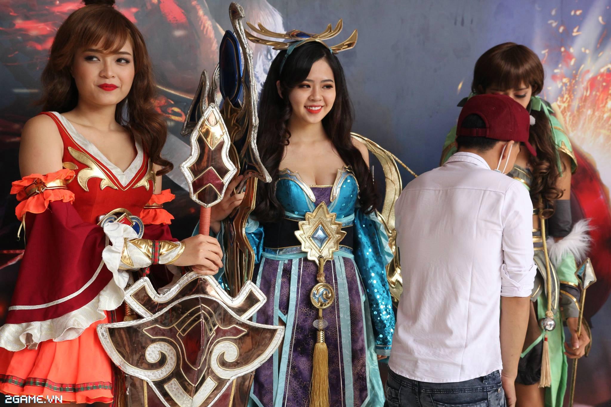 Điểm mặt các cosplay game xuất hiện tại Đại Hội 360mobi 2016 2