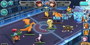 Poke Đại Chiến trở thành game mobile chủ đề Pokemon thành công nhất tại Việt Nam