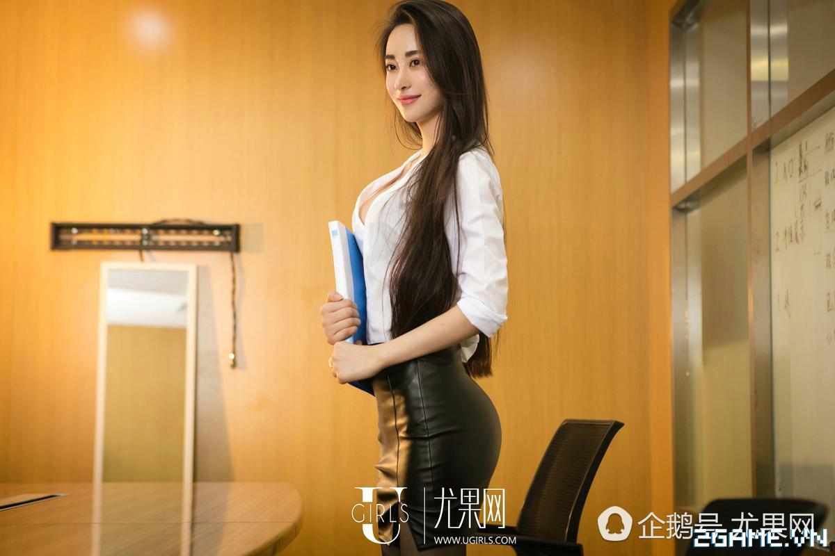 Nữ thư ký được thăng chức do biết chơi game online cùng với Sếp 23
