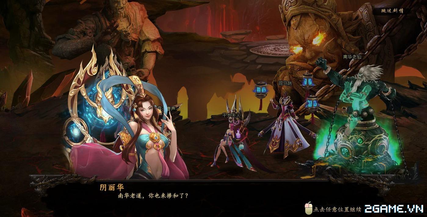 Vô Song Chiến Ký - Webgame đánh theo lượt cho phép combo cùng lúc nhiều tướng cập bến Việt Nam 3