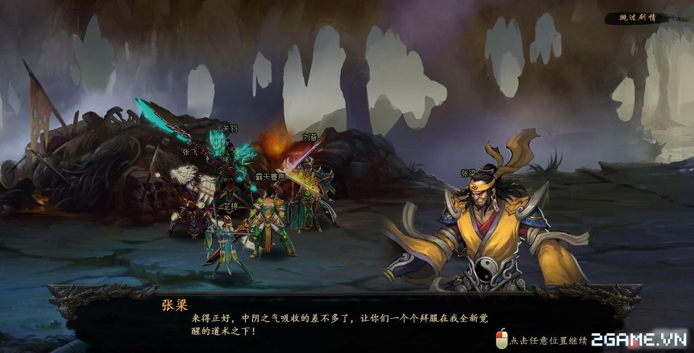 Vô Song Chiến Ký - Webgame đánh theo lượt cho phép combo cùng lúc nhiều tướng cập bến Việt Nam 4