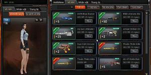 Đột Kích cập nhật vũ khí mới mang tên Thuận Thiên Kiếm