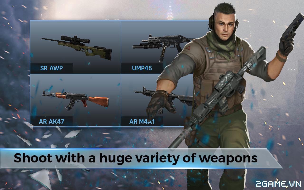 FZ9 Timeshift - Thêm một game mobile bắn súng chất lượng cao nữa đến từ bàn tay người Việt 3