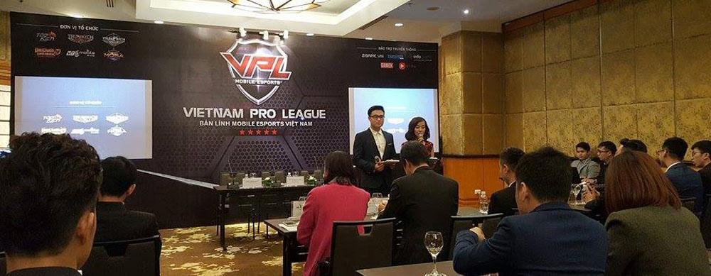VTC Mobile họp báo công bố giải đấu VPL 2017 với quy mô xứng tầm quốc tế