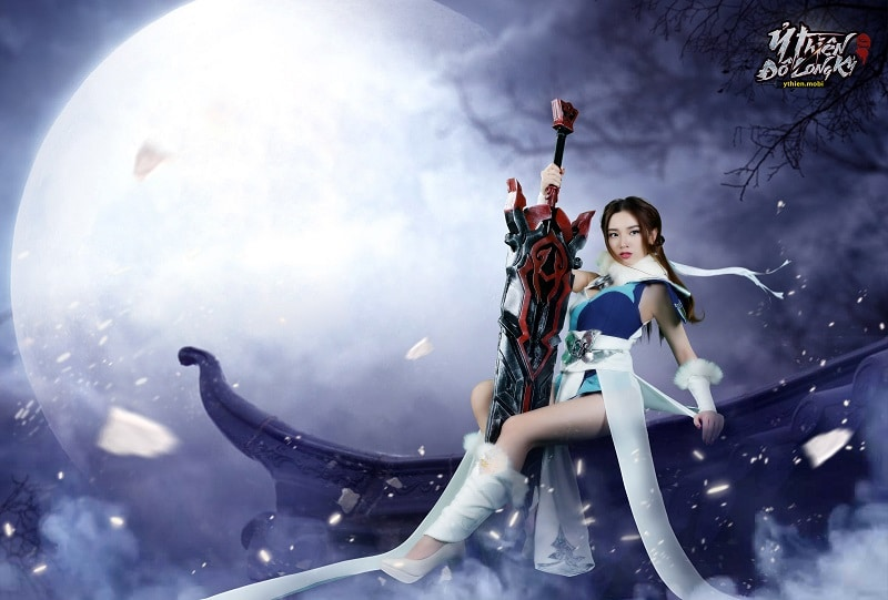 Ỷ Thiên 3D mobile tung ảnh cosplay Cổ Mộ phái khiến anh em game thủ