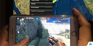 Cận cảnh game thủ chơi Phục Kích mobile ở độ cao 11.500m