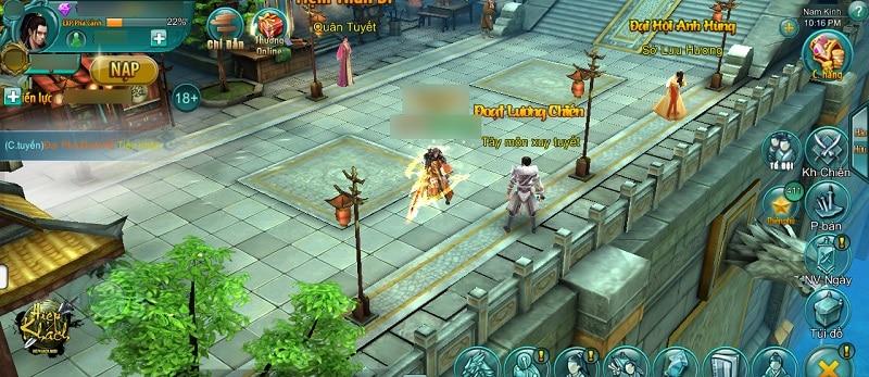 """Hiệp Khách Mobile """"ngầu hết mức"""" với phiên bản update Tình Nghĩa Giang Hồ 1"""