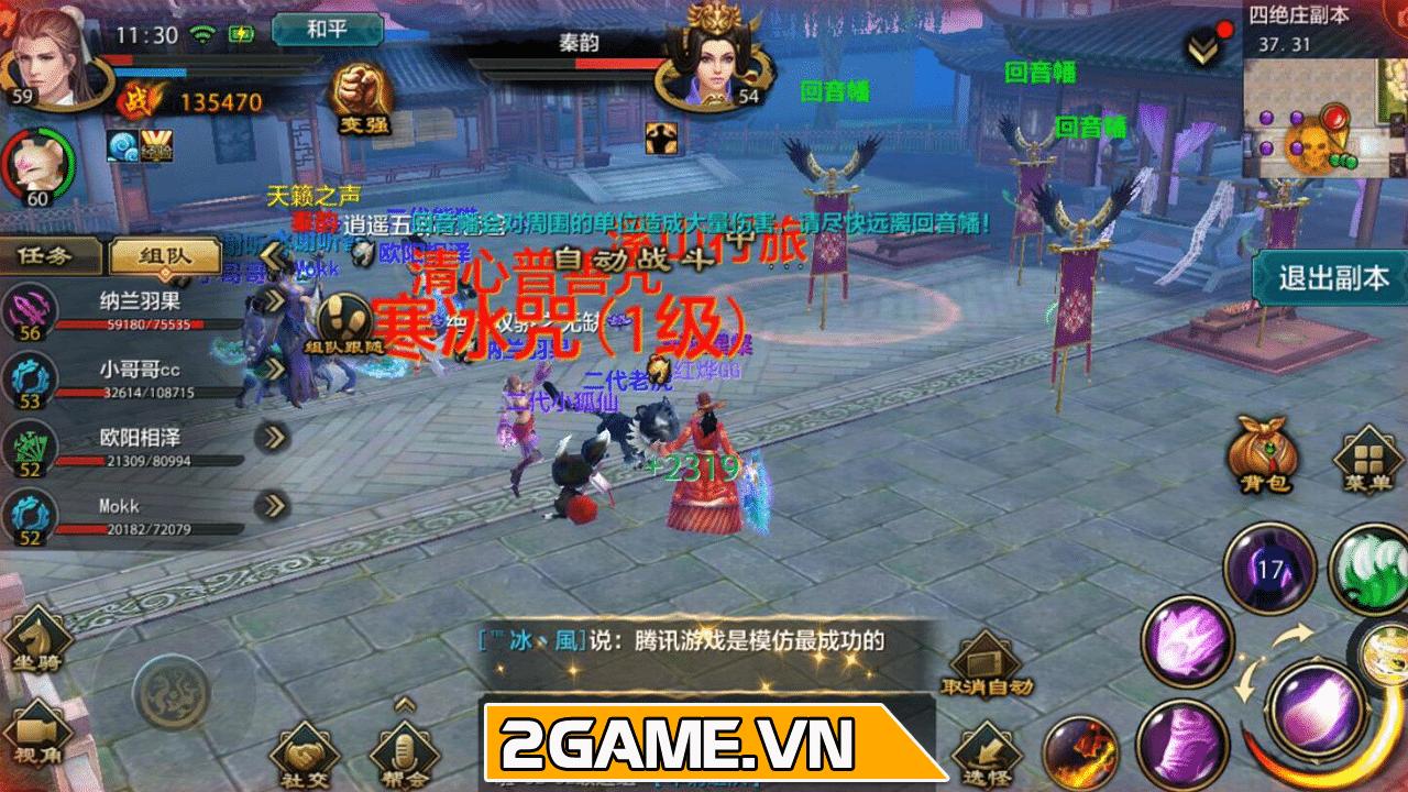 Trên tay bom tấn Tân Thiên Long Mobile VNG - Bản game di động giống hệt PC 0
