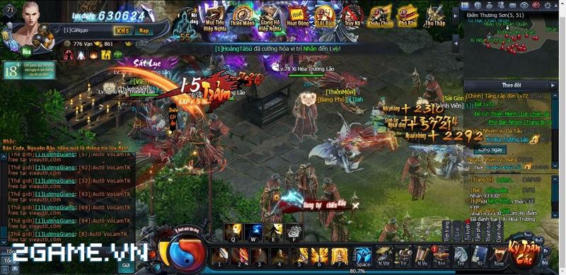 Webgame Võ Lâm Truyền Kỳ và những hoạt động kinh điển đậm vị VLTK xưa 0
