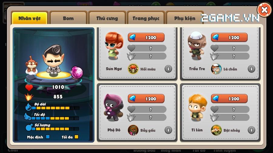 Vì sao gọi Boom Bá Online là game đặt bom thế hệ mới? 0
