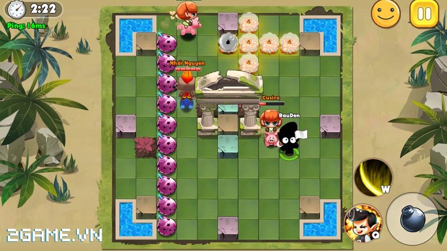 Vì sao gọi Boom Bá Online là game đặt bom thế hệ mới? 2