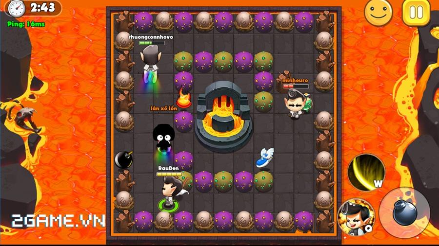Vì sao gọi Boom Bá Online là game đặt bom thế hệ mới? 5