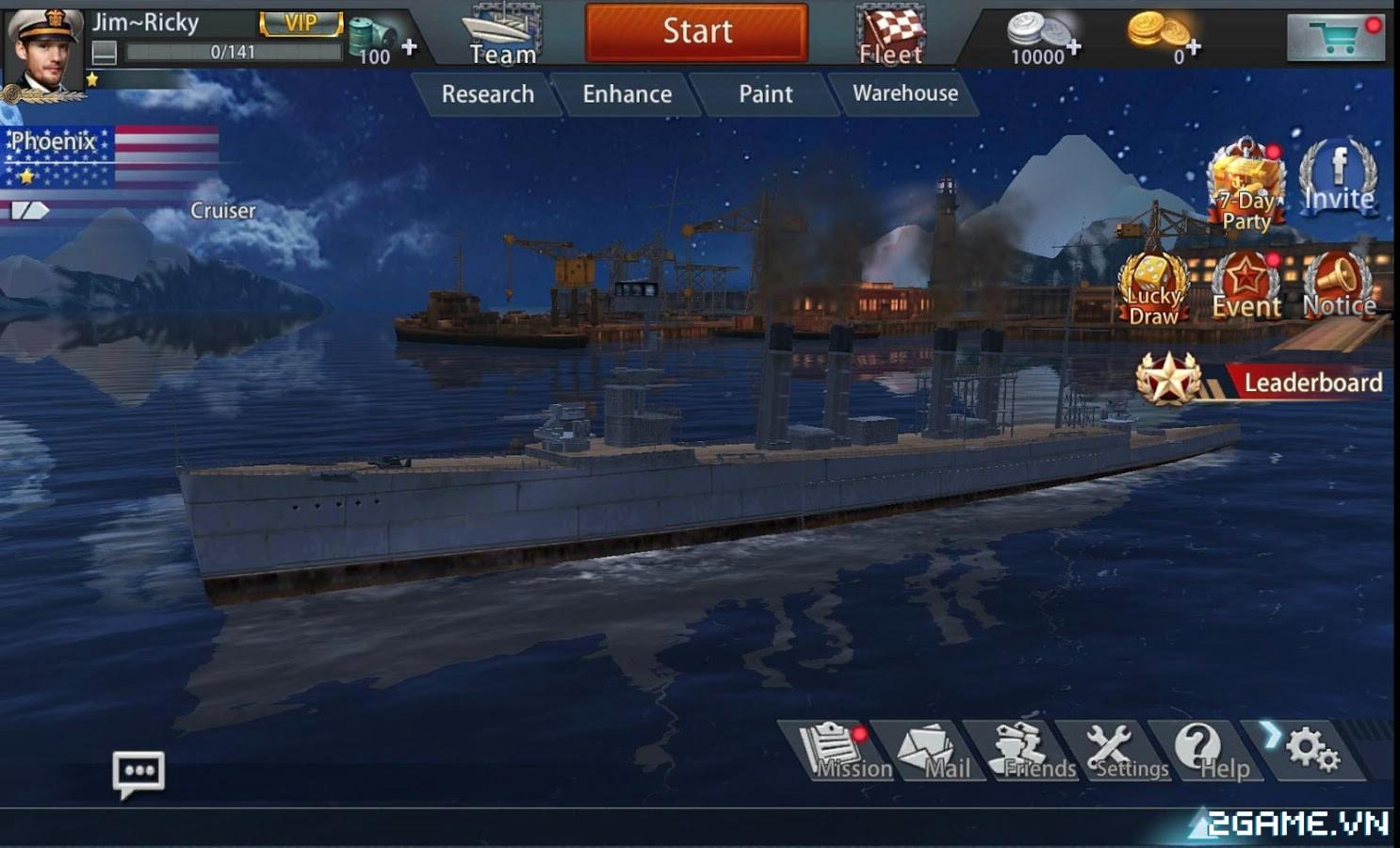 Thủy Chiến 3D mobile: Tựa game được mệnh danh là World of Warships mobile về Việt Nam 1