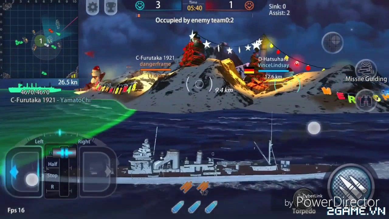 Thủy Chiến 3D mobile: Tựa game được mệnh danh là World of Warships mobile về Việt Nam 4