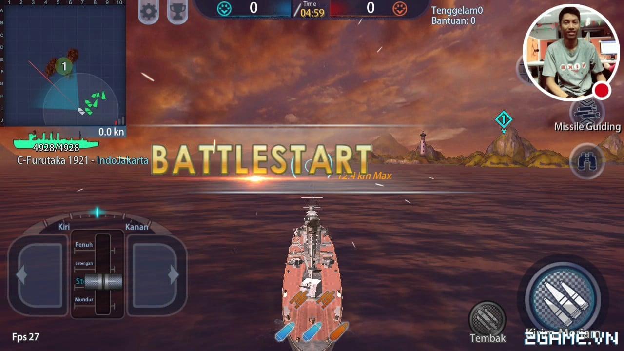 Thủy Chiến 3D mobile: Tựa game được mệnh danh là World of Warships mobile về Việt Nam 6