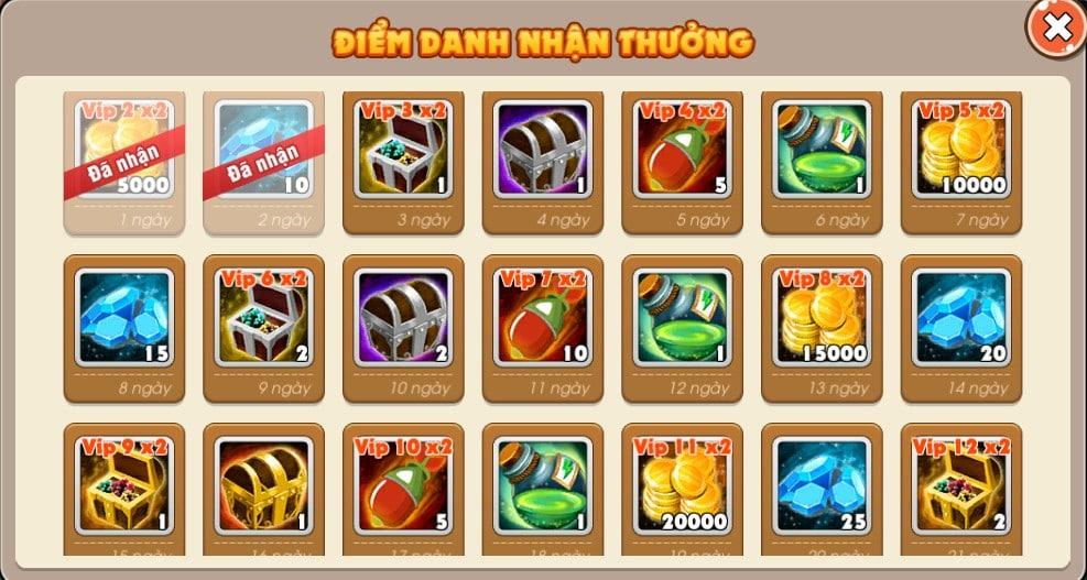 2Game tặng 500 giftcode Boom Bá Online 3