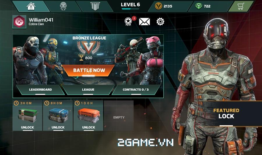 Modern Combat Versus - Game bắn súng xứng danh bom tấn trên di động 0