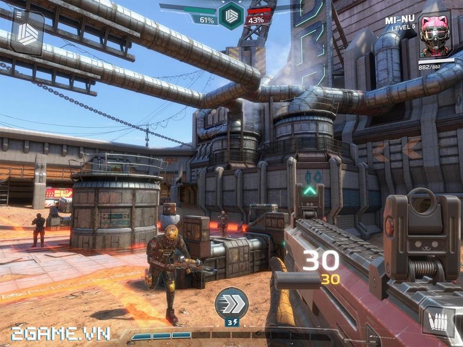 Modern Combat Versus - Game bắn súng xứng danh bom tấn trên di động 2