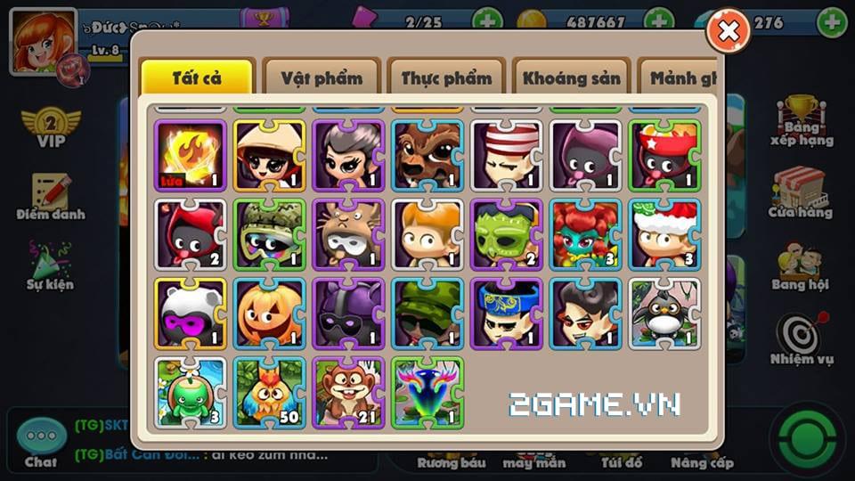 Điểm mặt các tính năng đặc sắc phá cách trong Boom Bá Online 3