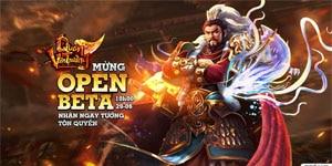 """Ơn giời game Quan Vân Trường open beta rồi, game thủ lại có cơ hội nhận được tướng """"siêu hiếm"""" Tôn Quyền"""
