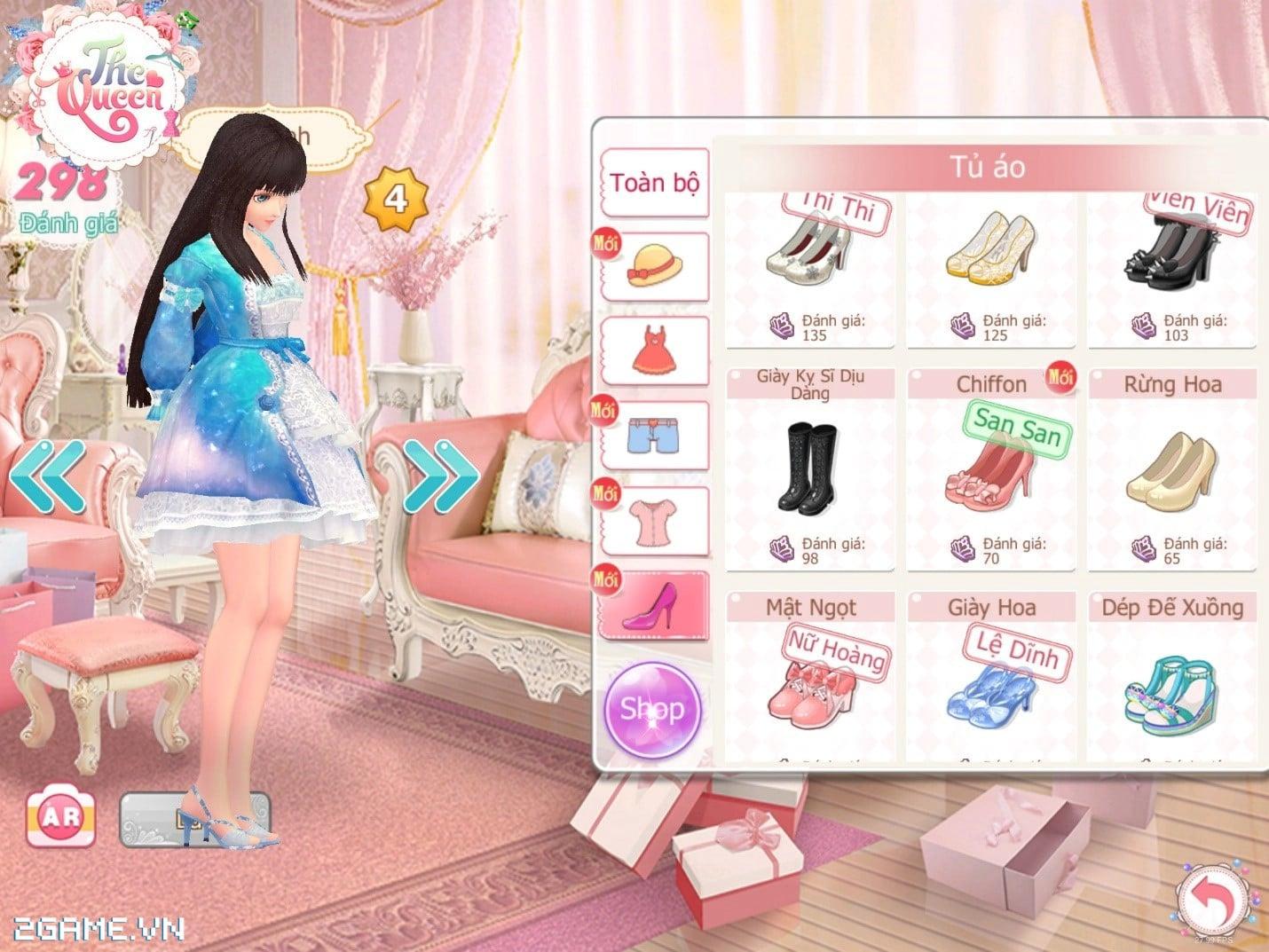Điểm mặt 3 tính năng đặc sắc của game The Queen: Nữ Hoàng Thời Trang 5