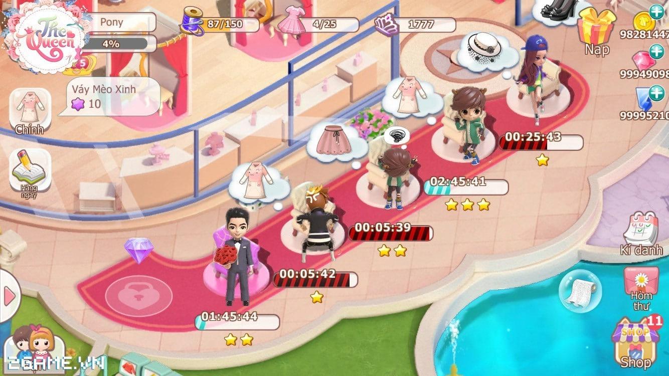Điểm mặt 3 tính năng đặc sắc của game The Queen: Nữ Hoàng Thời Trang 6