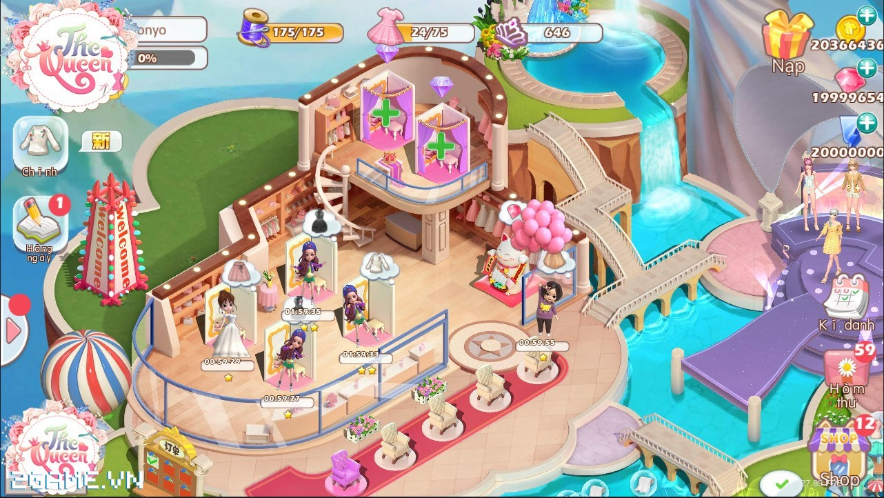 Điểm mặt 3 tính năng đặc sắc của game The Queen: Nữ Hoàng Thời Trang 4