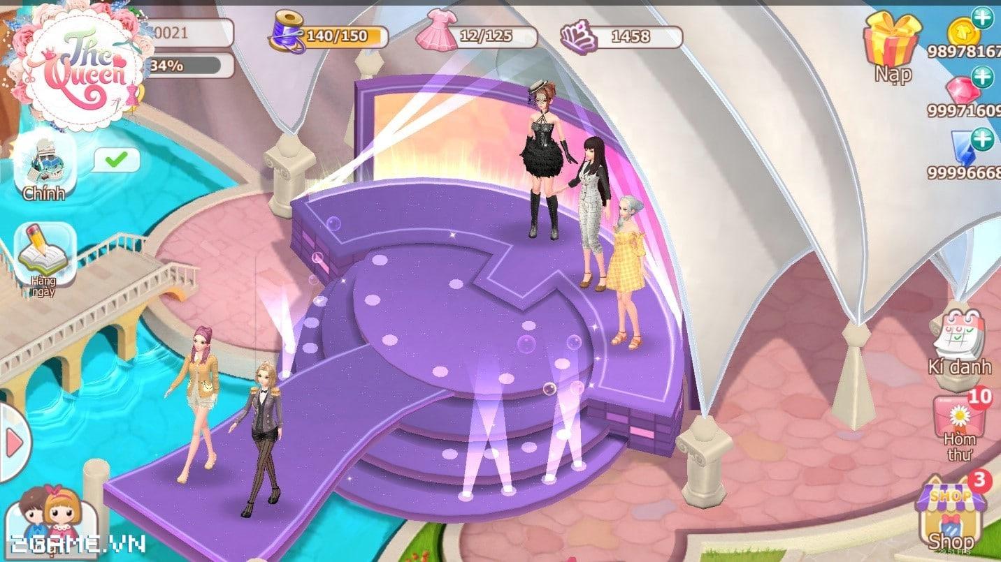 Điểm mặt 3 tính năng đặc sắc của game The Queen: Nữ Hoàng Thời Trang 3