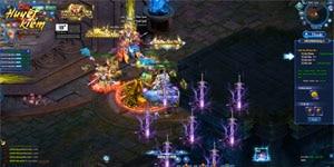 Nhận Vàng thả ga – thỏa sức trải nghiệm Alpha Test webgame Huyết Kiếm