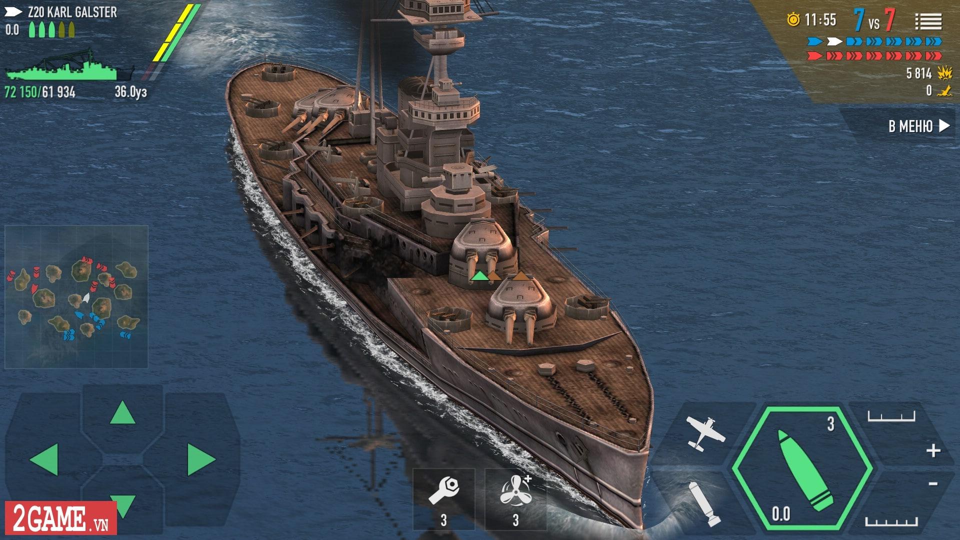 VTC Mobile xác nhận phát hành game mới Thủy Chiến 3D tại Việt Nam 0