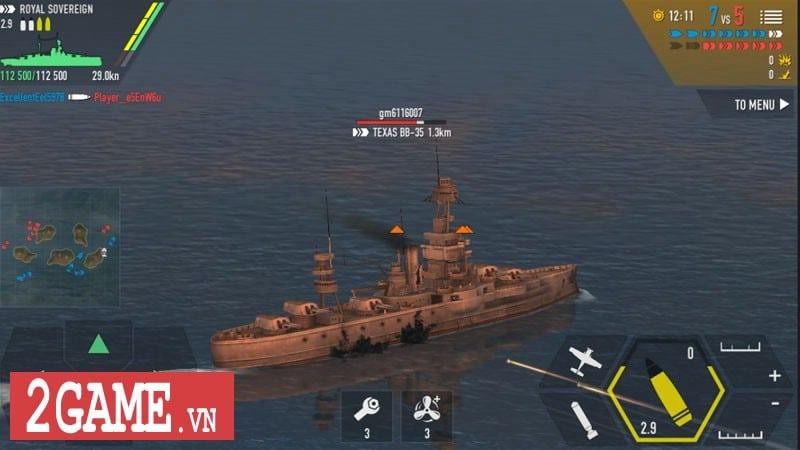 Chởi thủ Thủy Chiến 3D - Game mobile chủ đề chiến hạm rực lửa cho phép game thủ thỏa sức bắn phá 4