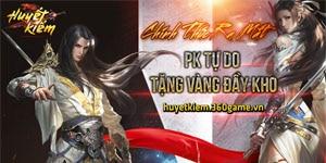 Huyết Kiếm chính thức ra mắt, bước vào cuộc chiến ở thị trường game Việt