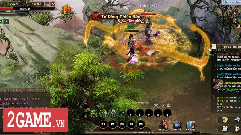 Cửu Âm Truyền Kỳ: Mang hình hài webgame song gameplay lại đậm chất game client 0