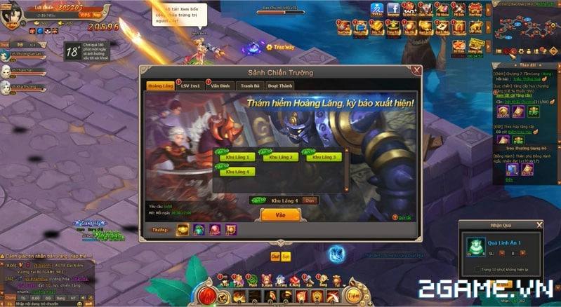 Điểm mặt 2 nơi dễ vào khó ra của webgame Đại Kiếm Vương 2