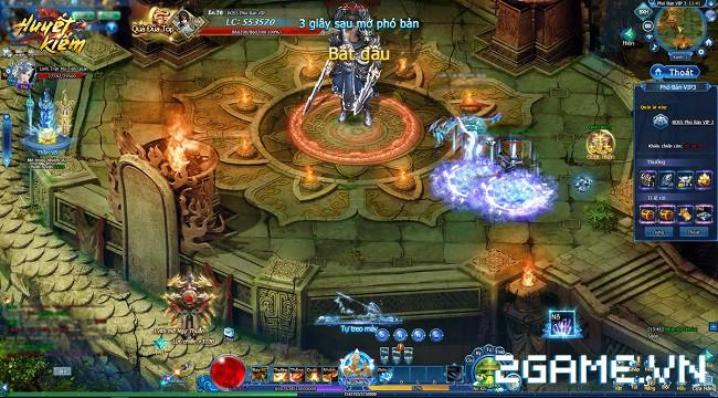 Webgame Huyết Kiếm và những cuộc chiến không ngừng nghỉ ở hệ thống phó bản dày đặc 3