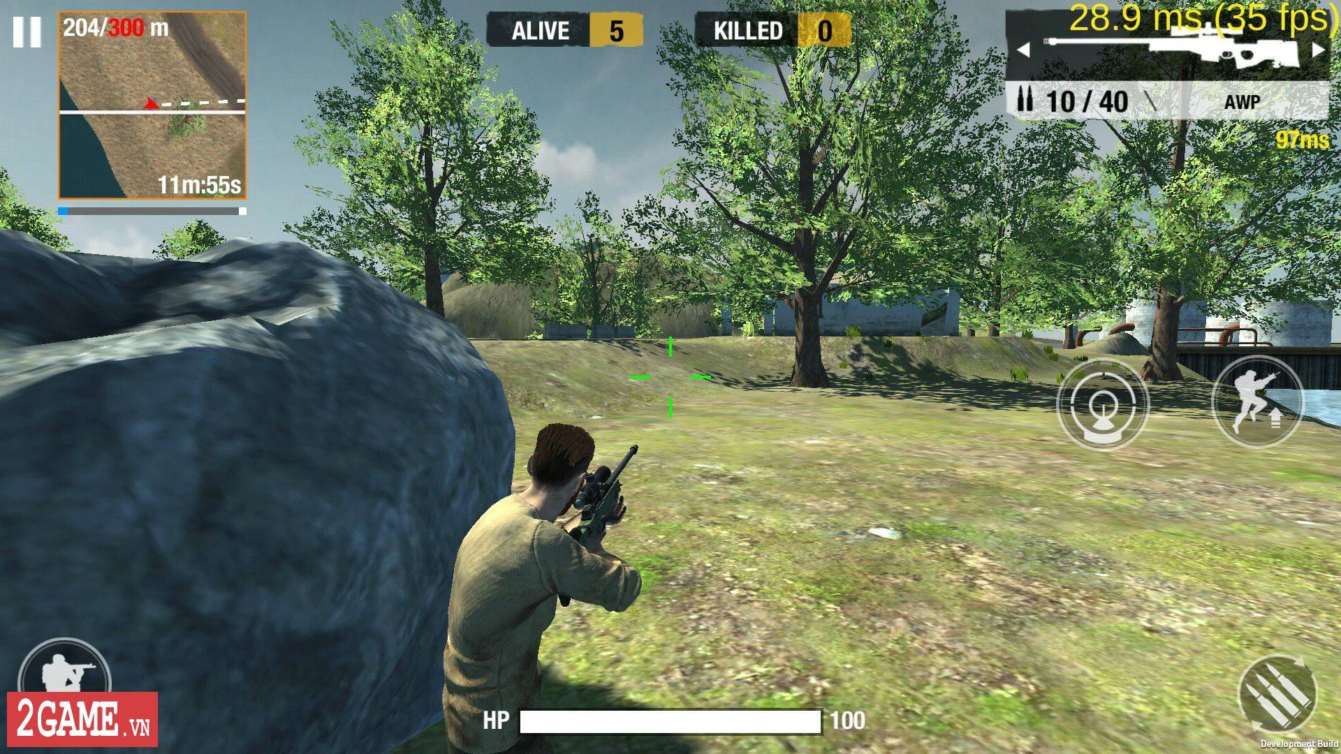 Tổng quan về lối chơi sinh tử của Bullet Strike: Battlegrounds 9