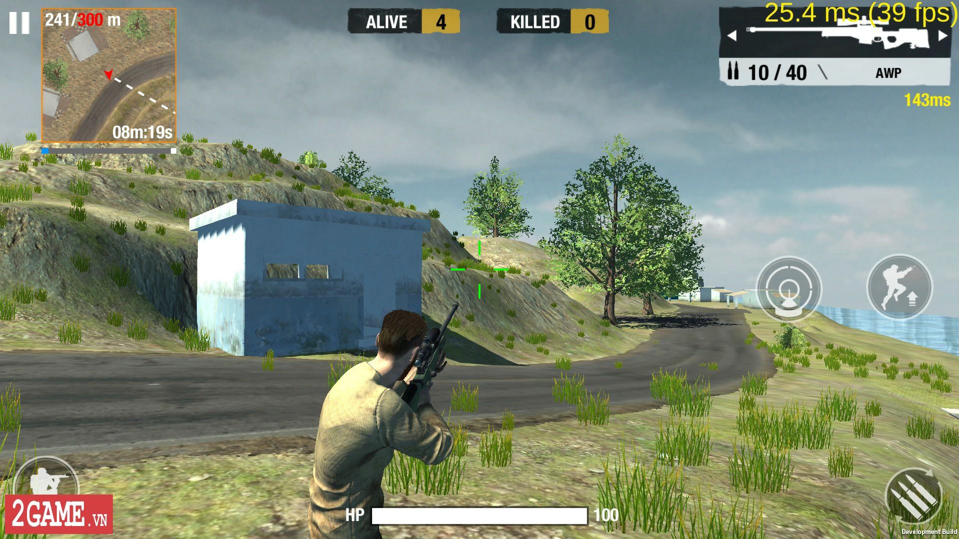 Tổng quan về lối chơi sinh tử của Bullet Strike: Battlegrounds 10