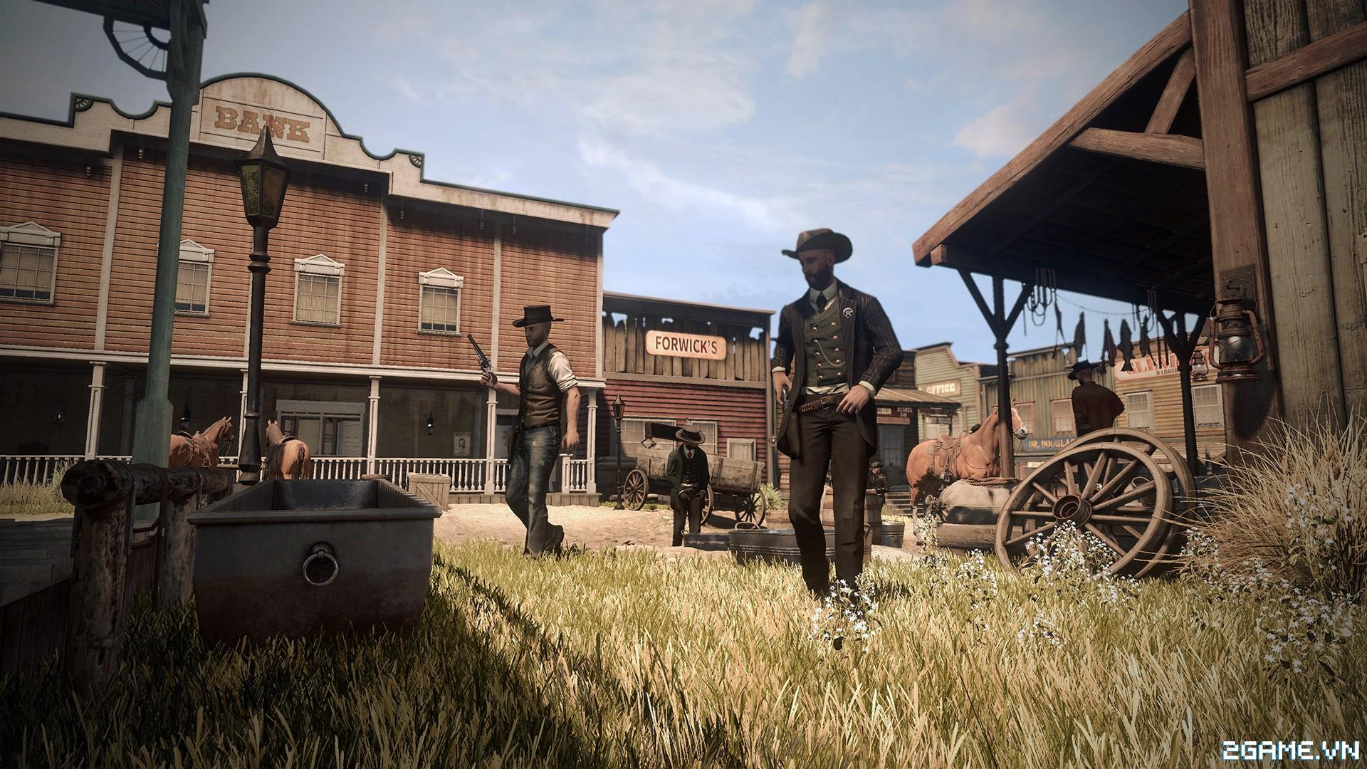 Wild West Online - Game nhập vai thế giới mở lấy bối cảnh Cao bồi miễn Viễn tay 4