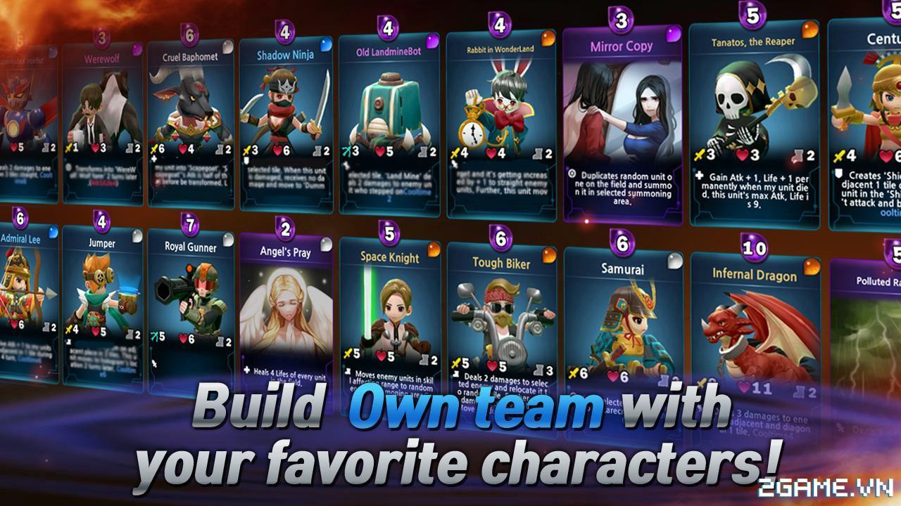 Tactical Leader – Game chiến thuật kết hợp dòng game Thẻ bài, MOBA và cả Nhập vai 2